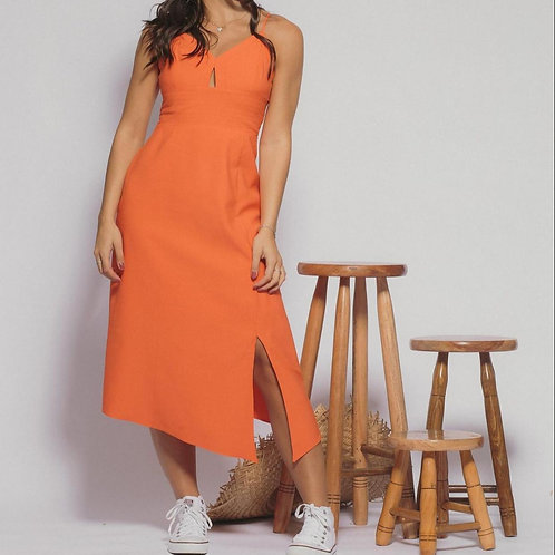 Vestido Marcella - Laranja