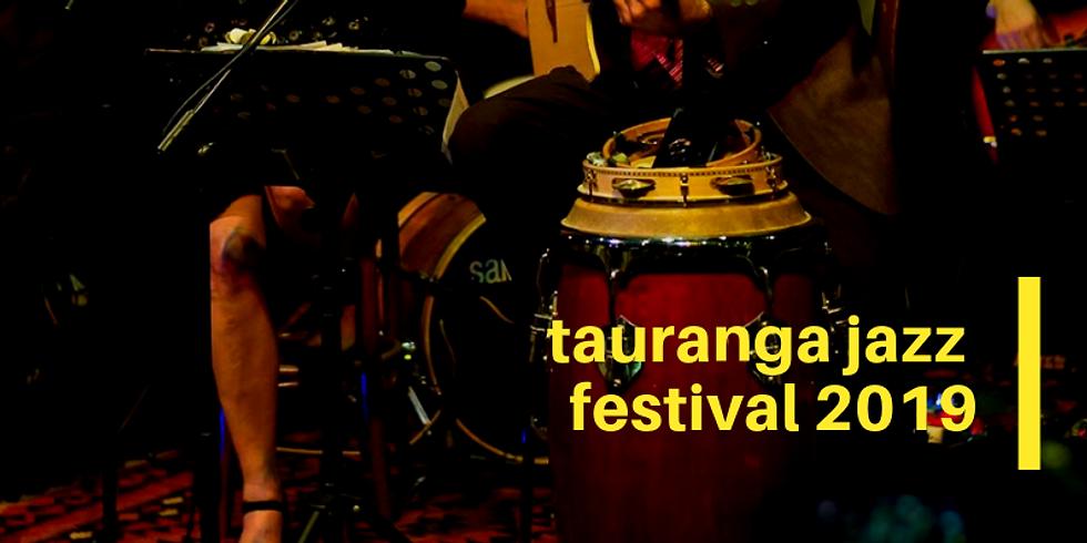 Live at Tauranga Jazz Festival