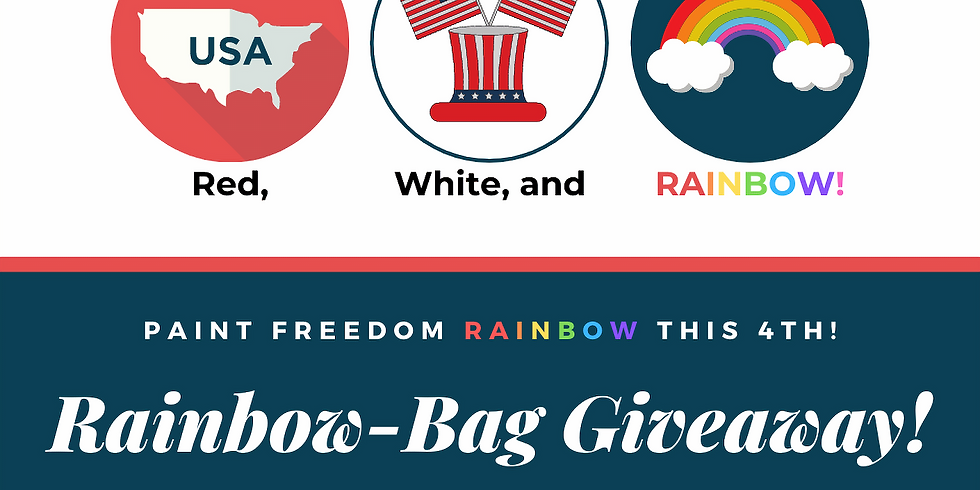 Red, White, & Rainbow-Bag Giveaway for Freedom!