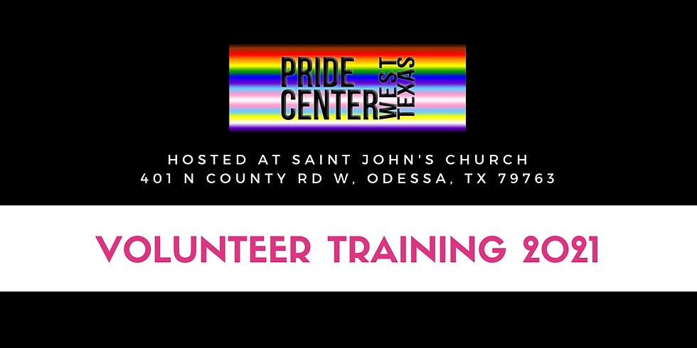 Volunteer Training Spring 2021