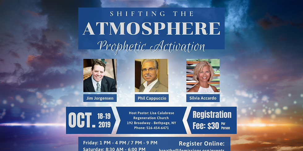 Shifting the Atmosphere - Bethpage, NY