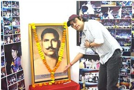 Megastar Aazaad celebrated the 109th Birth Anniversary of Cinematic Giant Rajnarayan Dube