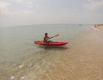 каяк на черном море