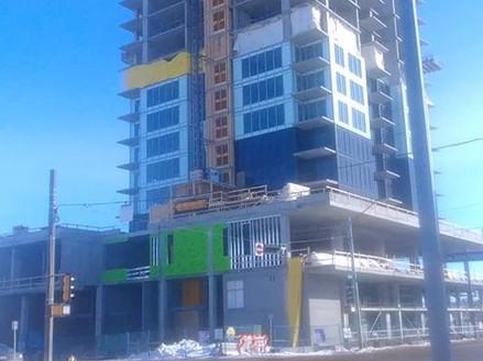 Hat@Five corners new high rise in Edmonton