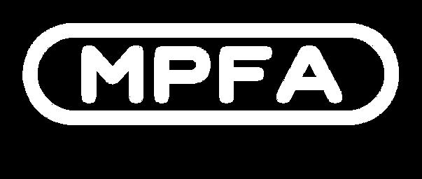 MPFA no HS Prep white logo transparent b