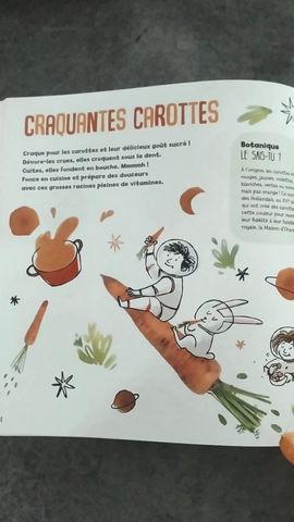 Décollage pour la planète carotte !