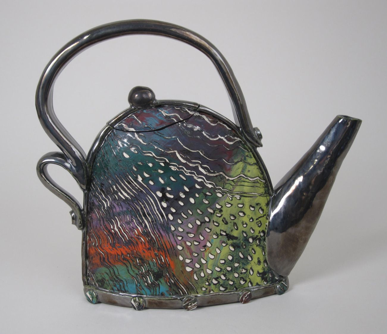 Stormy Day Teapot