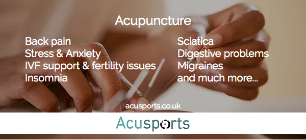 Acusports | Acupuncture Clinic in Glasgow