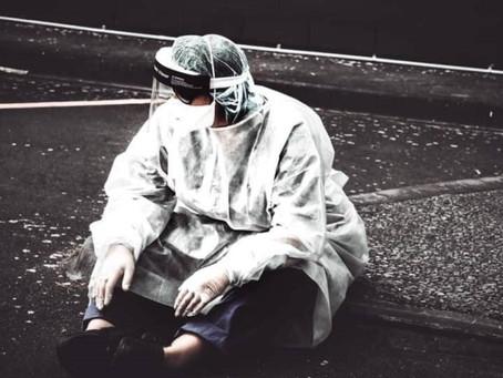 Napier Medical team lighten dim atmosphere amid Covid-19 pandemic