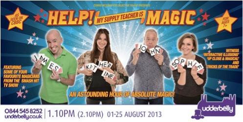 Cardiff Magician Edinburgh Fringe