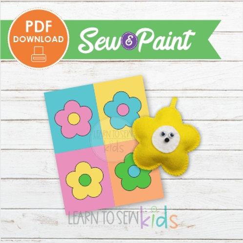 Sew & Paint Daisy