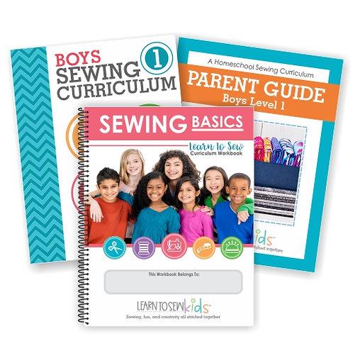 Boys Sewing Curriculum Bundle