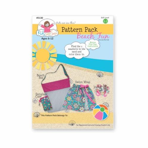 Beach Fun Pattern (10 Pack)
