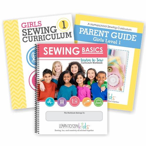 Girls Sewing Curriculum Bundle