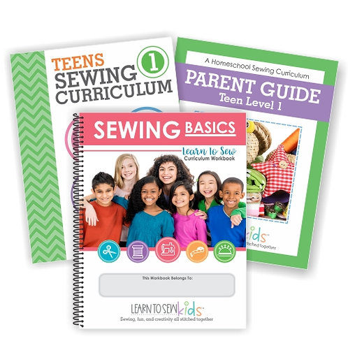 Teens Sewing Curriculum Bundle