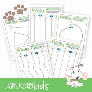 Dog Theme Practice Sheet Image.png