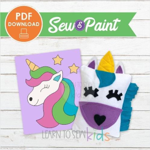 Sew & Paint Unicorn