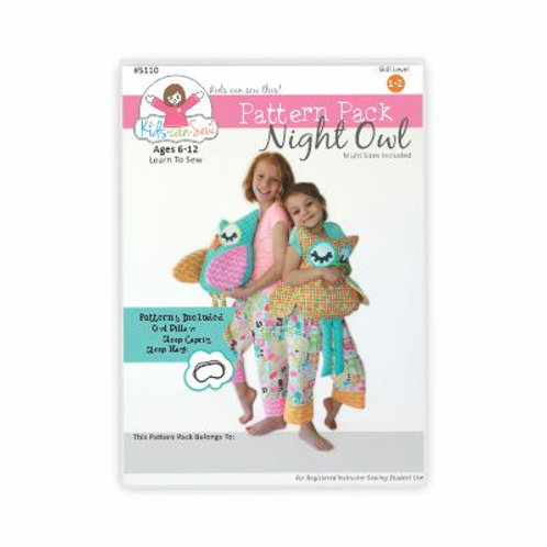 Night Owl Pattern (10 Pack)