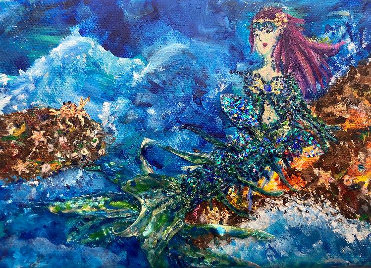 Mermaid on a Rock.jpg