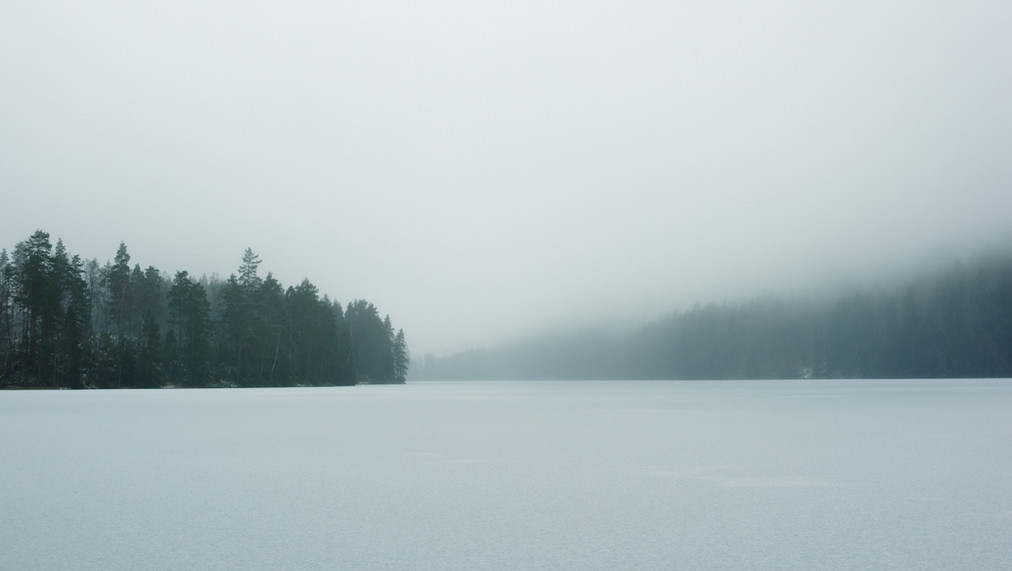 Frozen Lake, Sweden