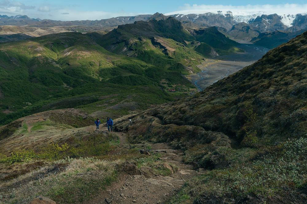 Thorsmork hiking Iceland