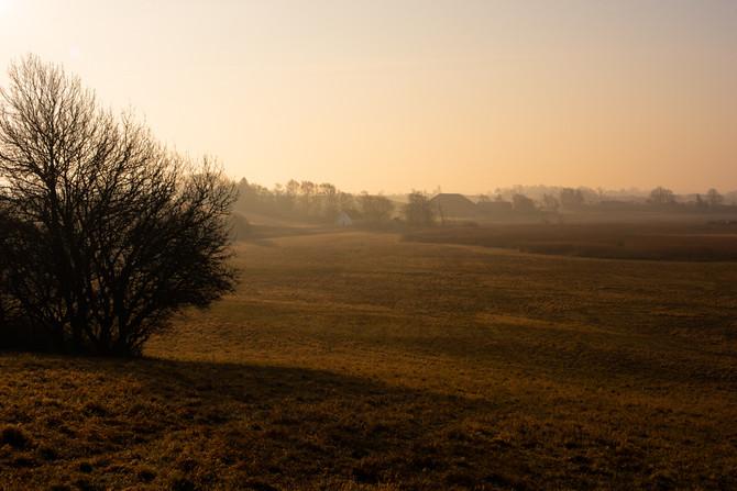 Heslev Sunrise, Denmark