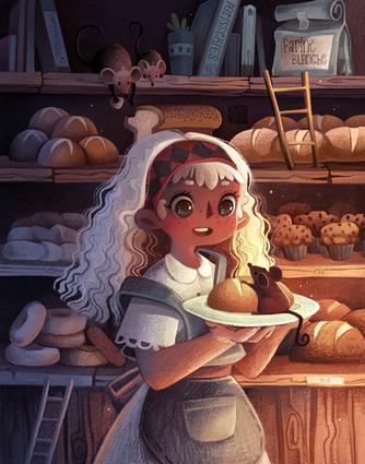 The Baker & the Little Mice