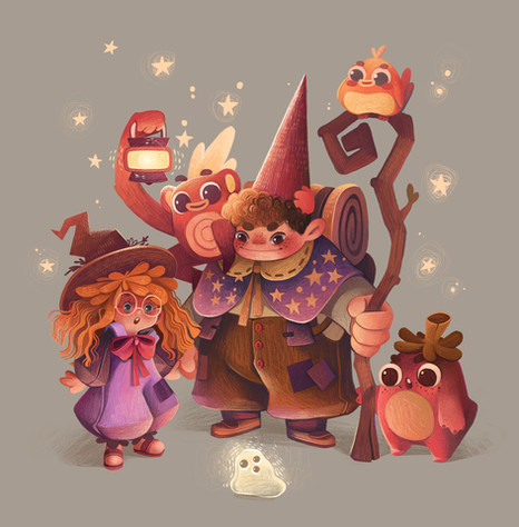 Magical Character Design Line-Up