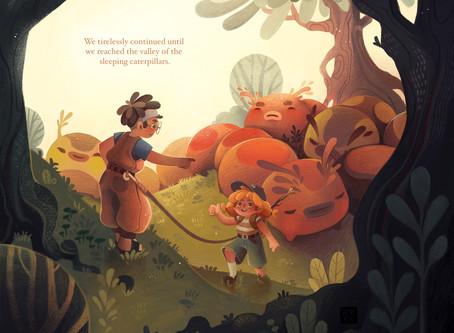 My Intro Into Children's Illustrations