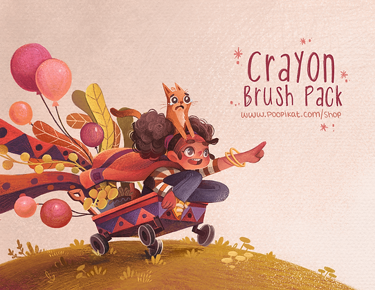 Crayon Brush Pack | 2021