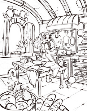 Kitchen Room Concept
