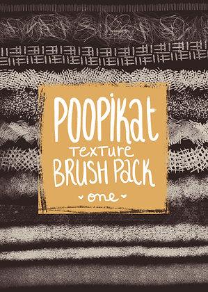 Texture Brush Pack no.1