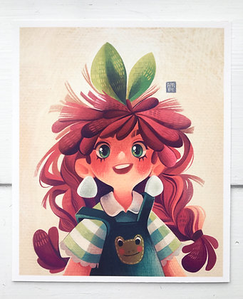 Bubbly Peach | Print