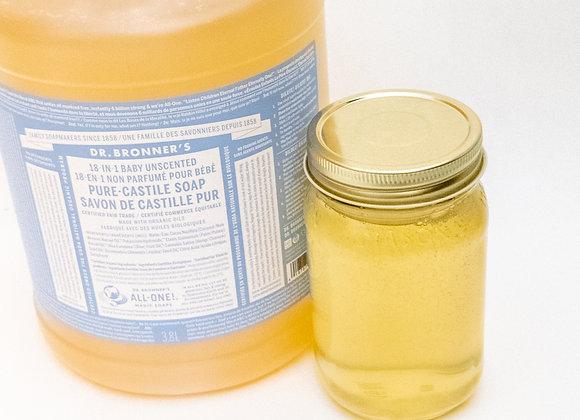 Castile Soap (Unscented)