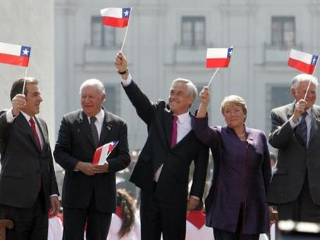 Presidentes de Chile y su alta traición a la patria
