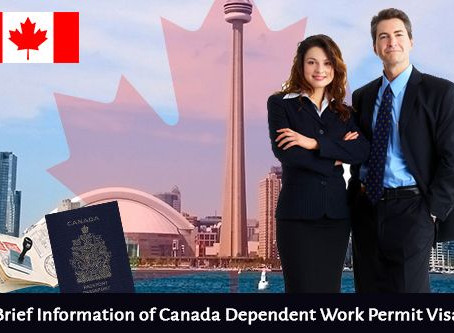 Canada Dependent visa with student application