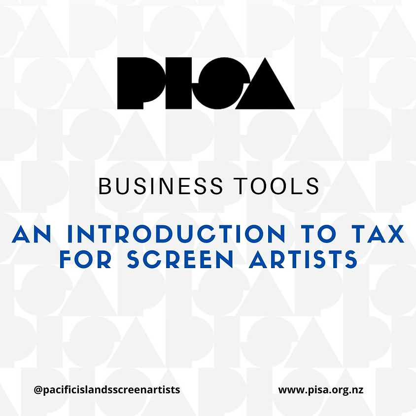 Introduction to Tax for Screen Artists (Limited Spaces Available)