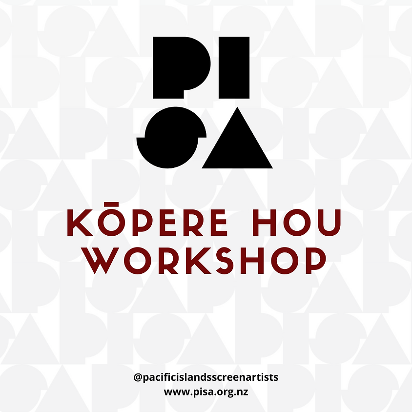 Kōpere Hou - Workshop - From idea into a story into a screenplay!