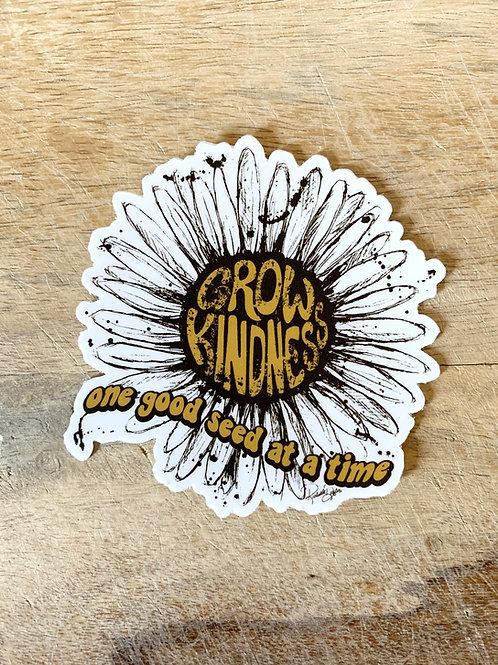 Grow Kindness No1 Sticker