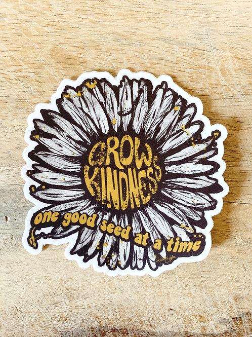 Grow Kindness No2 Sticker