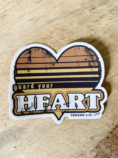 Guard Your Heart Sticker
