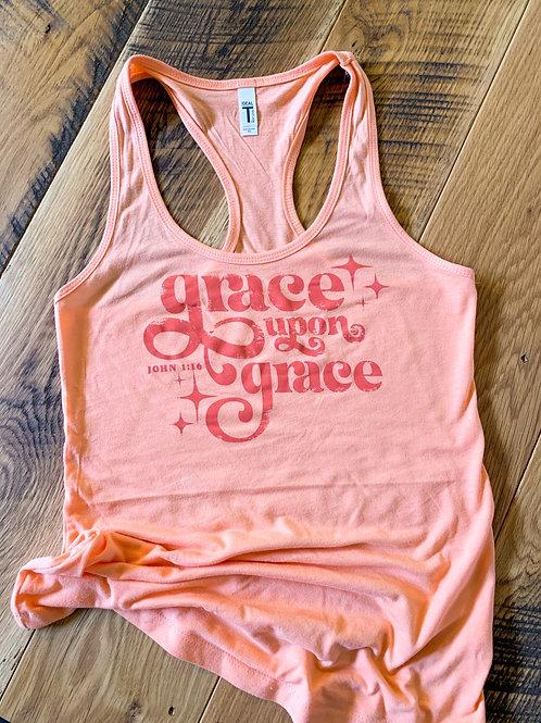 Grace upon Grace Tank   Graphic Tshirt