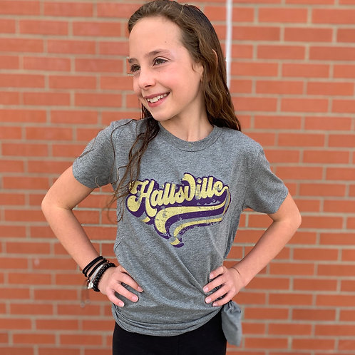 Retro Hallsville | KIDS Graphic Tee
