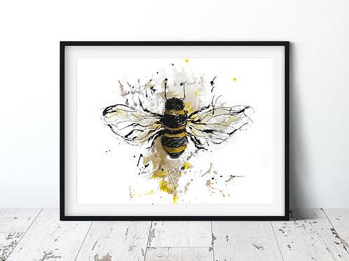 Bee | Unframed Print