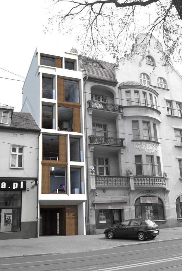 258 Dom jednorodzinny, Bydgoszcz