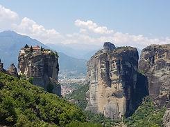 מטאורה יוון. צילום: אסנת ברק