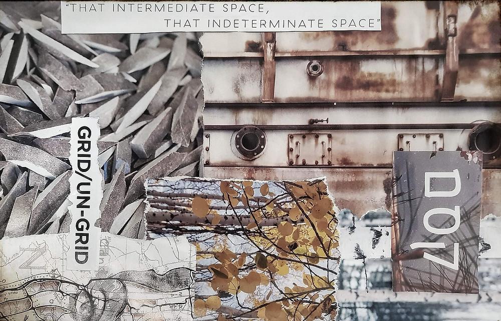 Intermediate space Collage