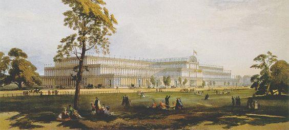 ארמון הבדולח בהייד פארק לונדון