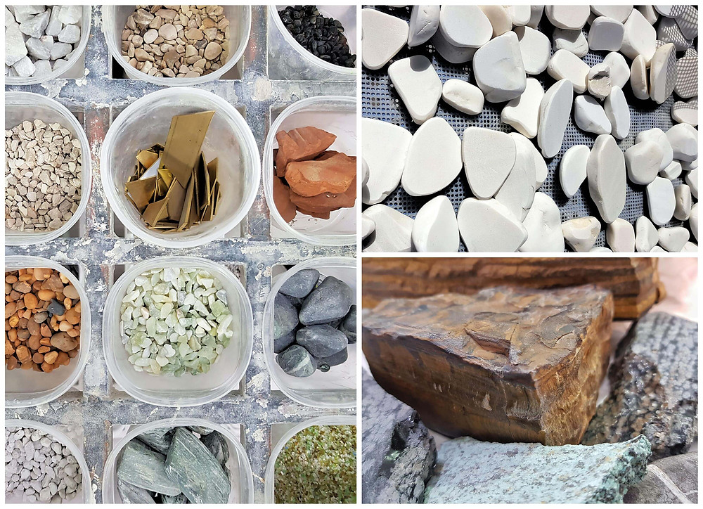 stones for Terrazzo אבנים לאגרגטים בטרצו