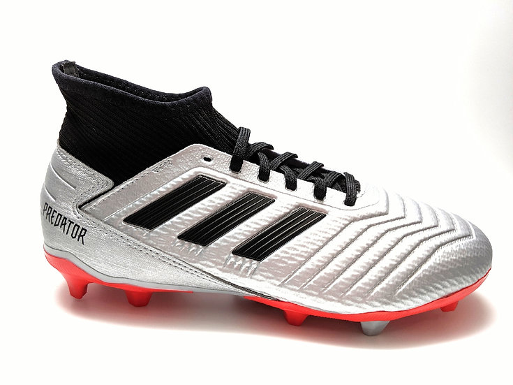 adidas Predator 19.3 Youth Firm Ground Soccer Cleats
